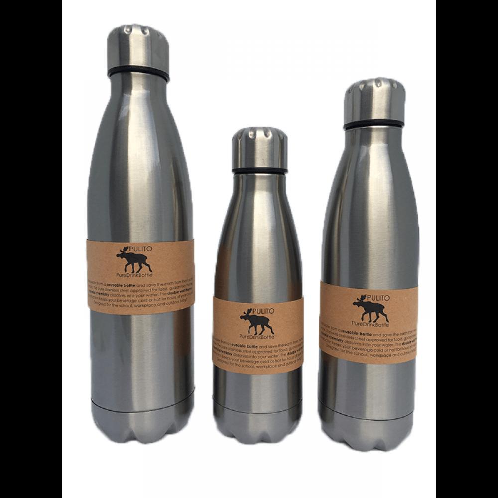 Pulito drikkeflaske med termoeffekt 350 ml.-01