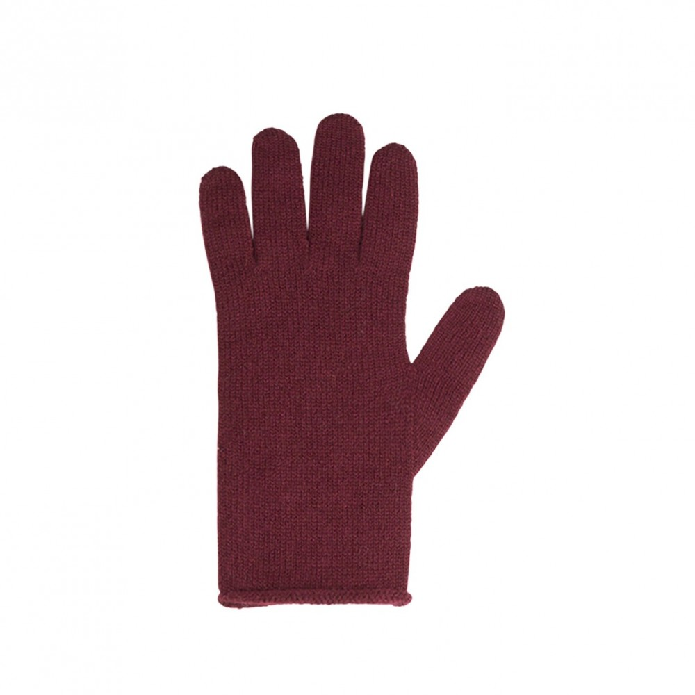 Pure Pure fingerhandsker merinould and kashmir bordeaux-31