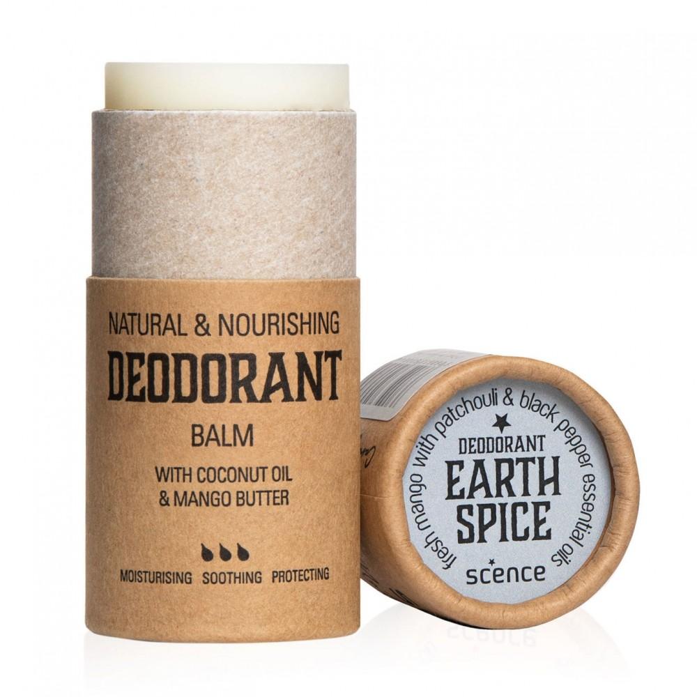 Scence økologisk and vegansk deodorant earth spice-31