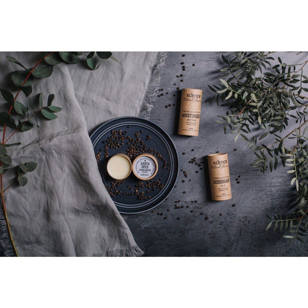 Scence økologisk and vegansk deodorant earth spice-01
