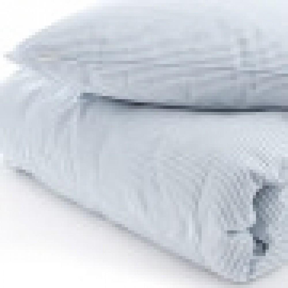VivaTex sengesæt voksen størrelser seablue stribe-01