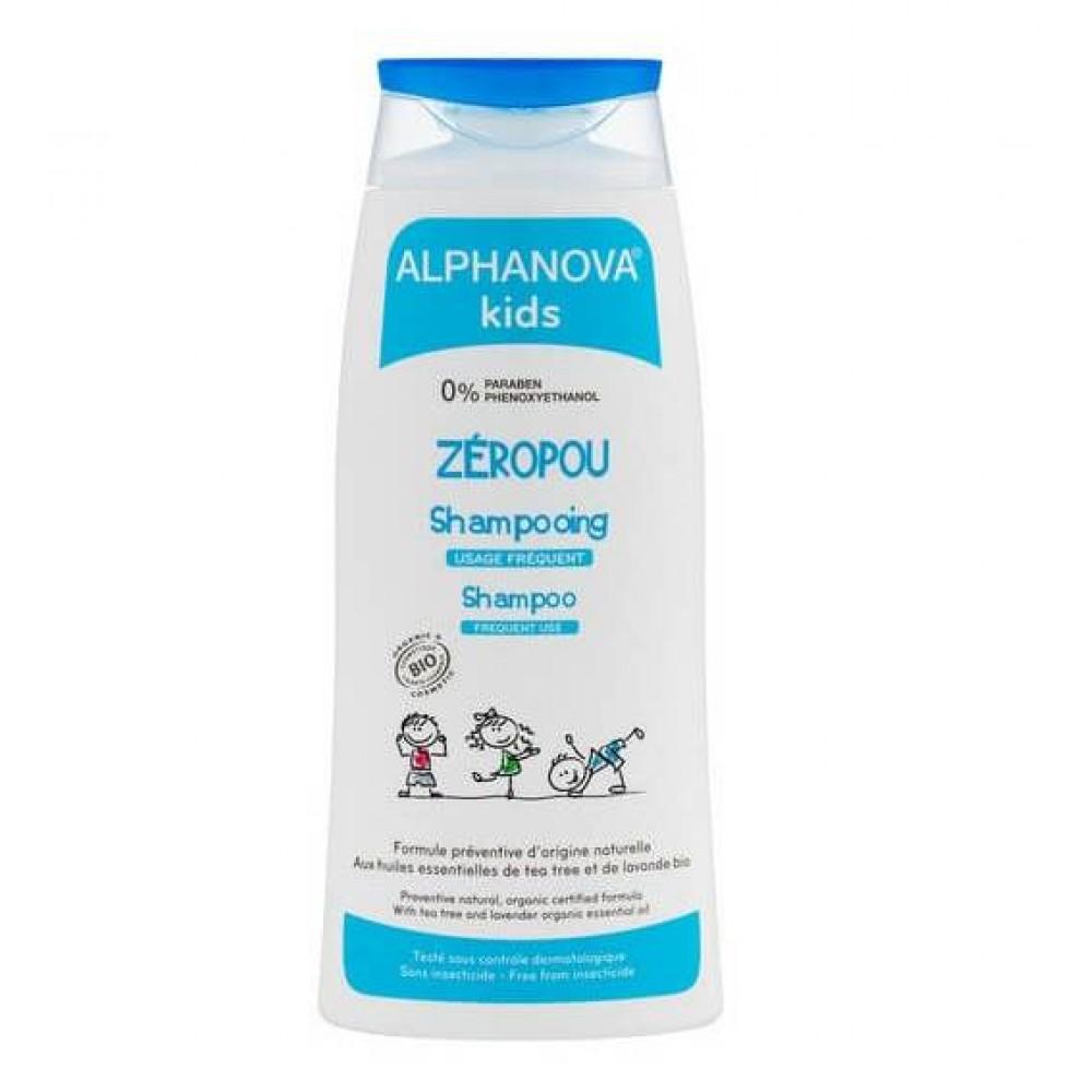 Alphanova shampoo til forebyggelse af lus 200 ml.-31