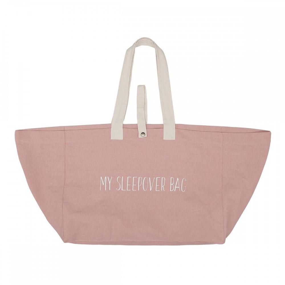 snork copenhagen sleepover bag/weekendtaske rosa-01