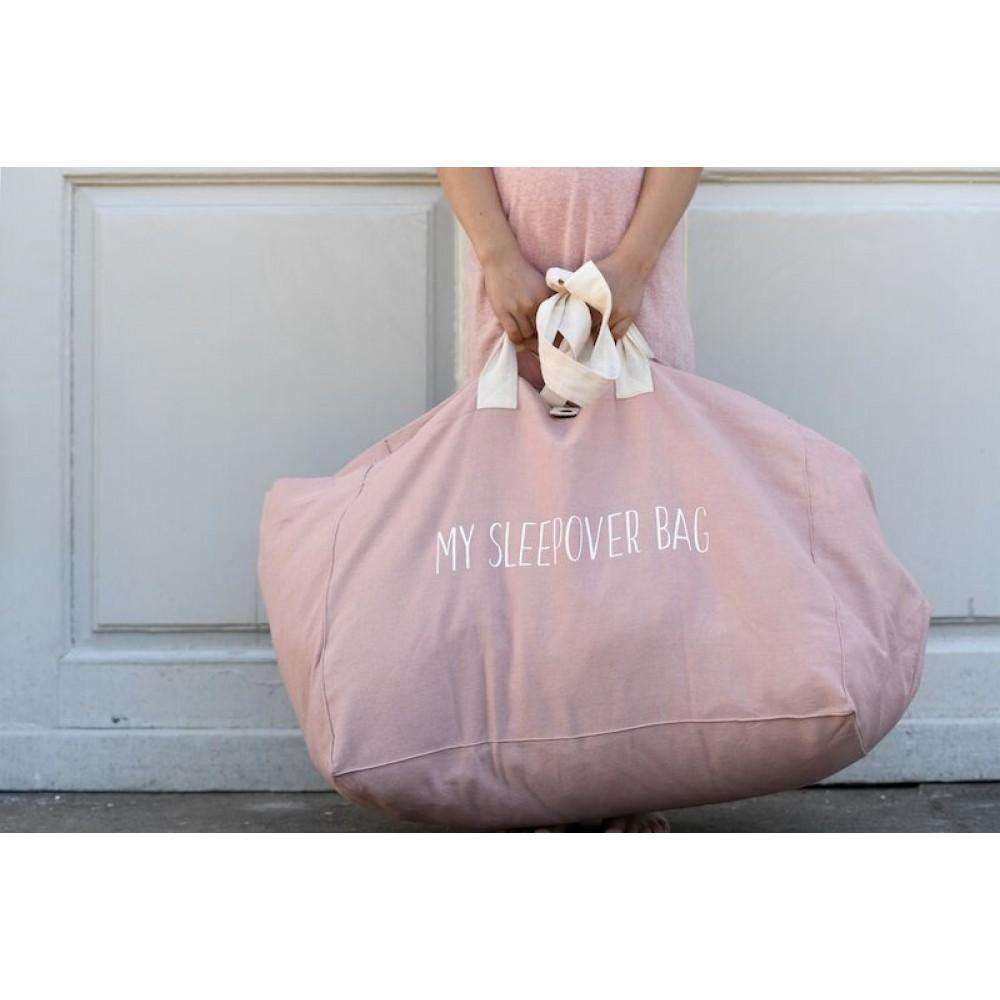 snork copenhagen sleepover bag/weekendtaske rosa-31