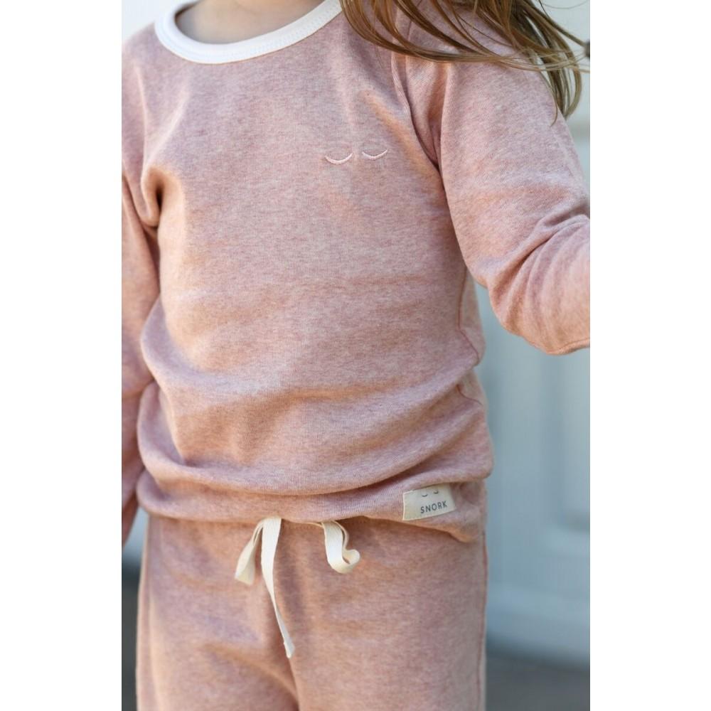 Snork Copenhagen pyjamas Olga delicate pink-01