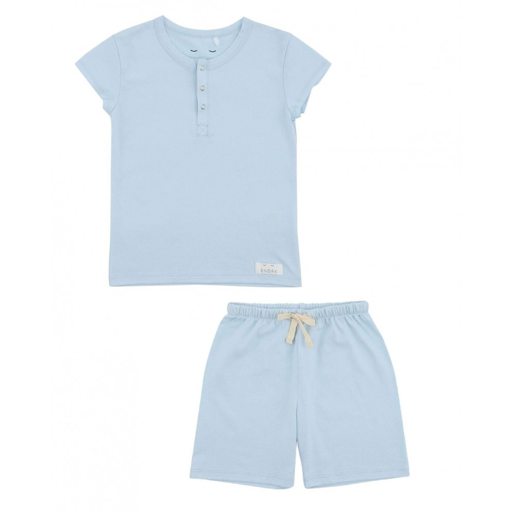 Snork Copenhagen Wilhelm pyjamas sky blue-31