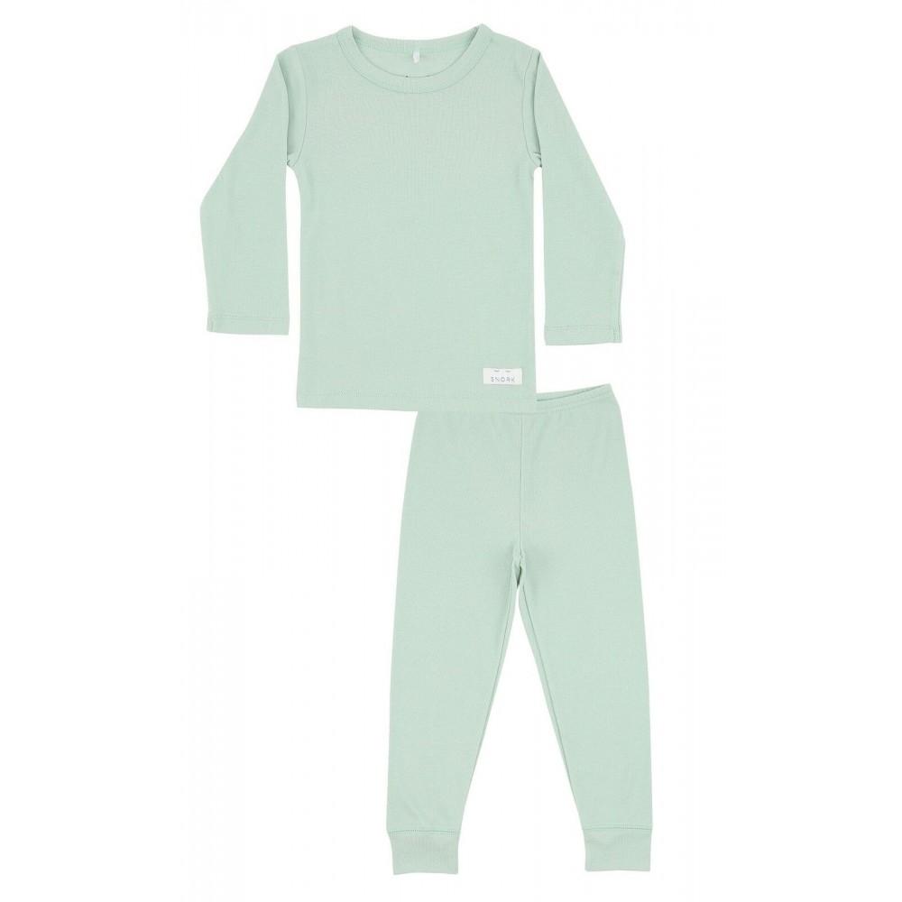 Snork Copenhagen pyjamas pastel green-33