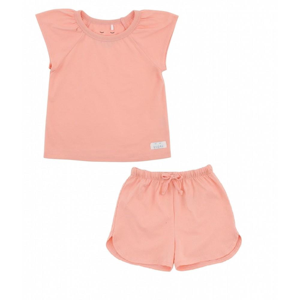 Snork Copenhagen SELMA pyjamas peach blush-31