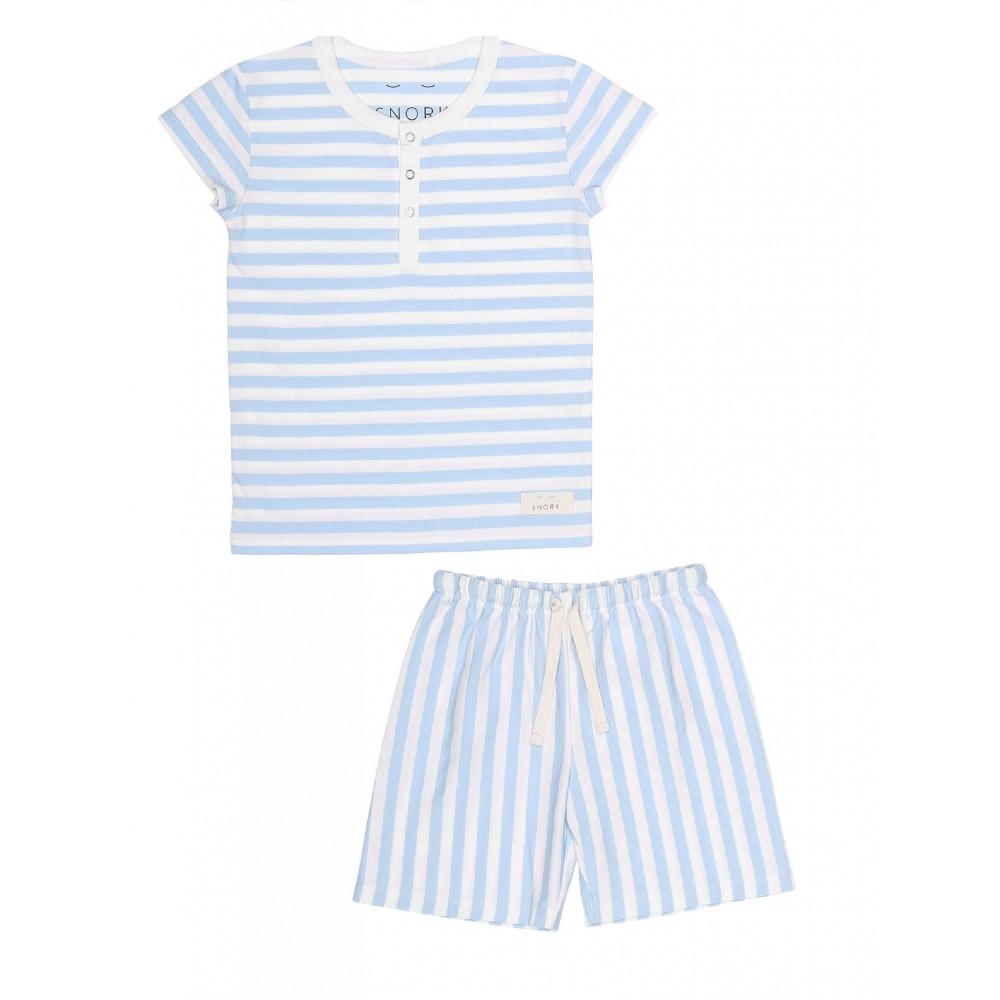 Snork Copenhagen Wilhelm pyjamas seastripes-31
