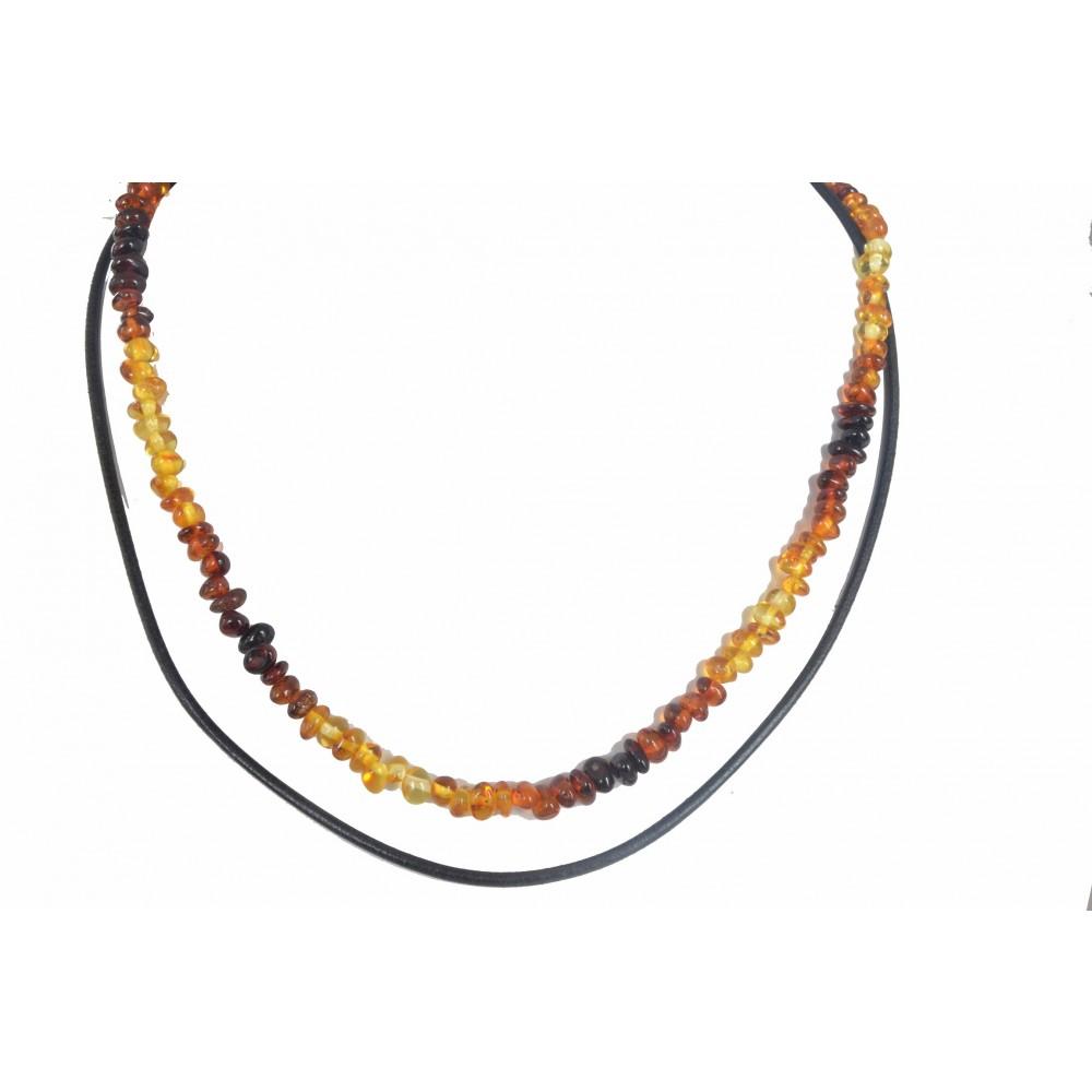 rav halskæde and læderhalskæde større børn and voksne-31