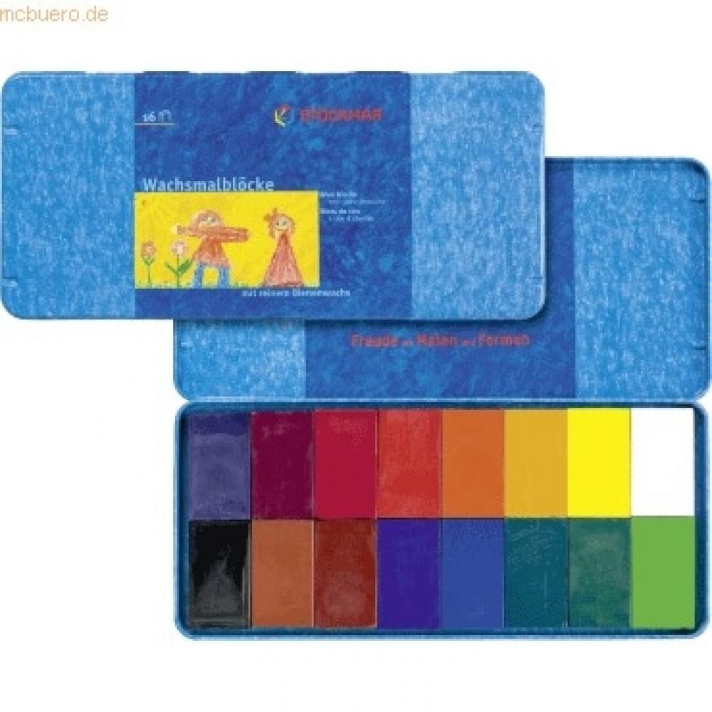 Stockmar bivoksfarver 16 bivoksblokke-31
