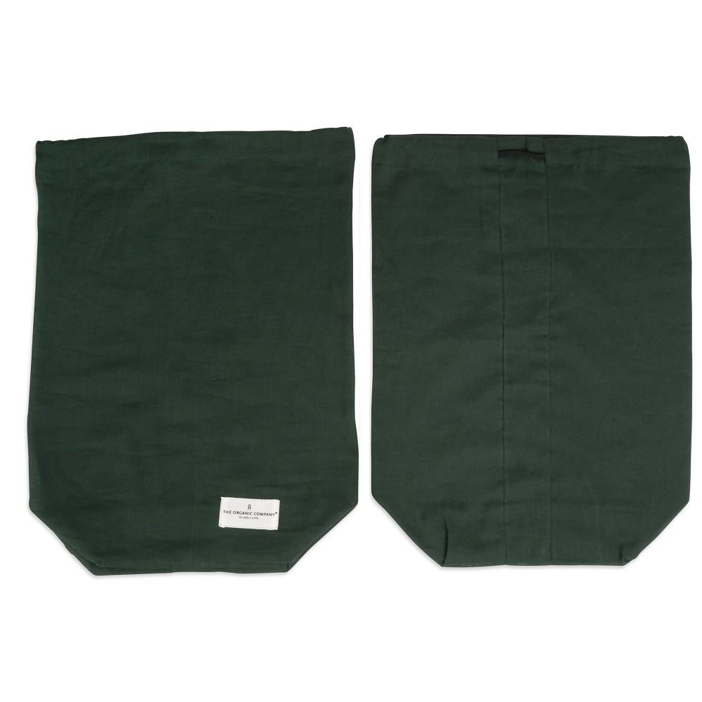 The Organic Company brødpose flere størrelser dark green-31