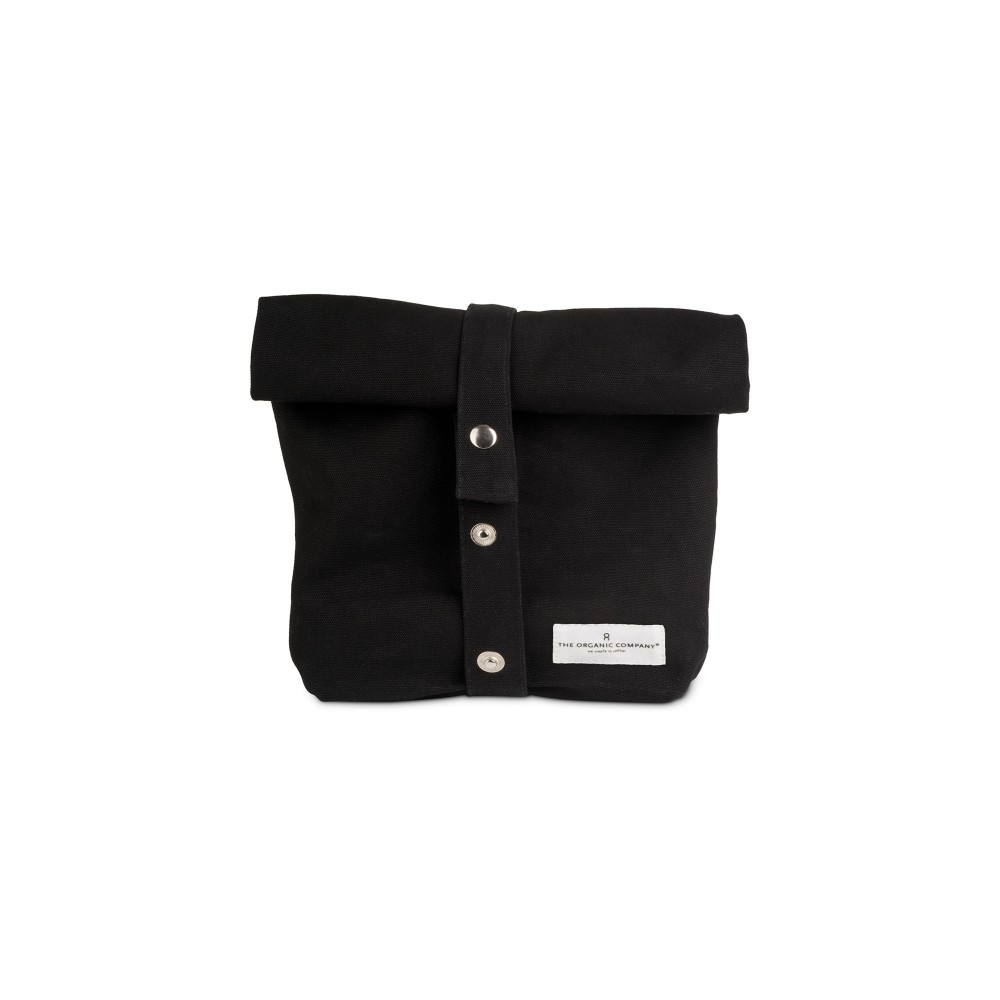The Organic Company lunchbag|madpakkepose black-01