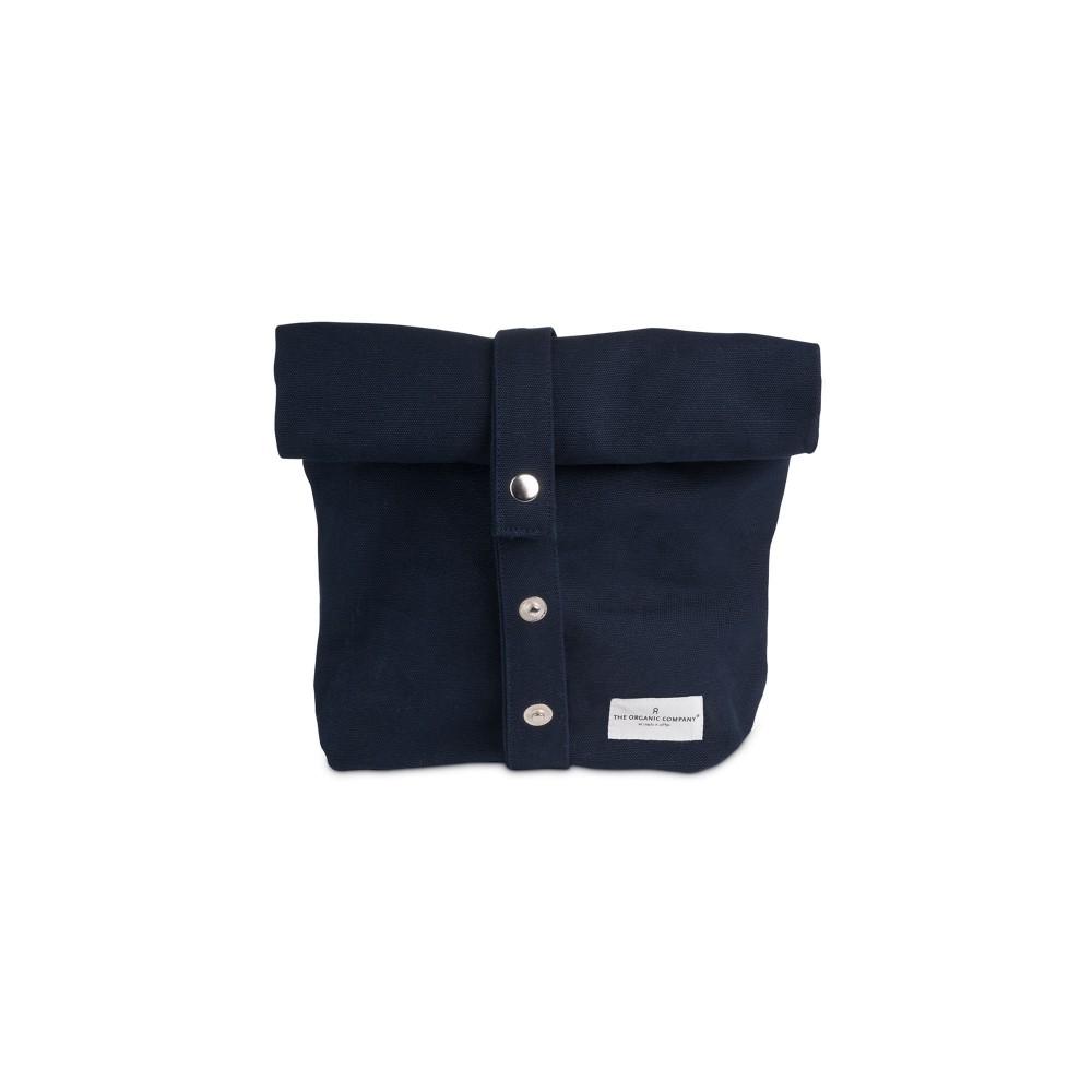 The Organic Company lunchbag|madpakkepose dark blue-31