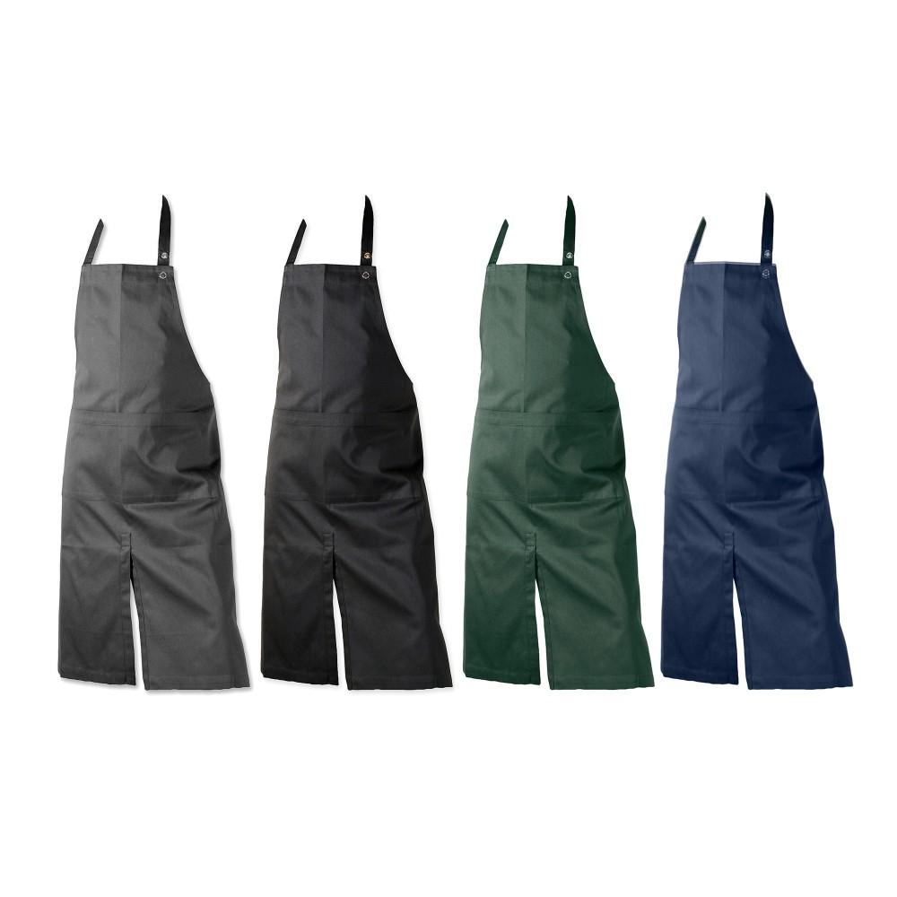 The Organic Company forklæde med lomme flere farver-31