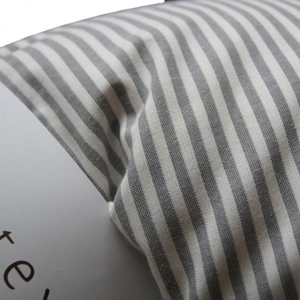 VivaTex sengesæt voksen størrelser grå stribe-01