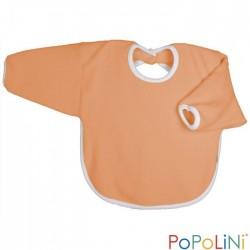 Popolini hagesmæk forklæde med ærmer orange-20