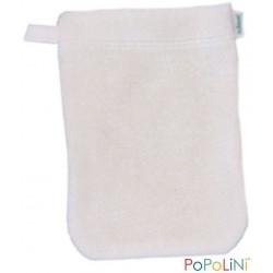 Popolini vaskehandske 2 størrelser natur-20