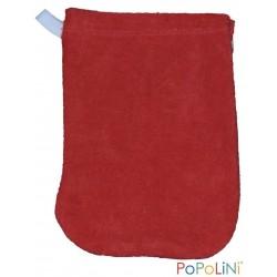 Popolini vaskehandske 2 størrelser rød-20