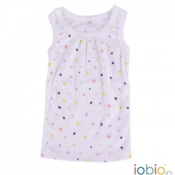Iobio undertrøje til piger gots bomuld natur med stjerner-20