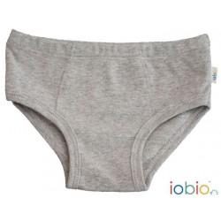 Iobio underbukser gots bomuld grå-20