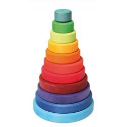 Grimms stort stabeltårn klassiske farver-20