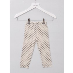 Alkena bukser bourette silke natur m. stjerner-20