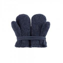 Pure Pure vanter økologisk uldfleece jeansblue-20
