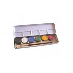 Eulenspiegel ansigtsfarver sminke farver 6 farver perle-20
