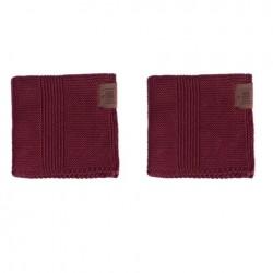 By Lohn all round cloth 30x30 cm. 2 stk. maroon-20