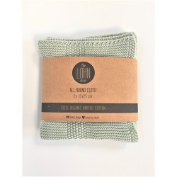 By Lohn all round cloth 25x25 cm. 2 stk. light mint-20