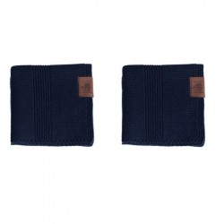 By Lohn all round cloth 25x25 cm. 2 stk. navy-20