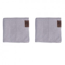 By Lohn all round cloth 30x30 cm. 2 stk. spanish grey-20