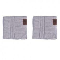 By Lohn all round cloth 30x30 cm. 2 stk. spanish grey-20