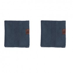 By Lohn all round cloth 25x25 cm. 2 stk. dark grey-20
