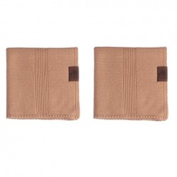 By Lohn all round cloth 25x25 cm. 2 stk. tanin-20