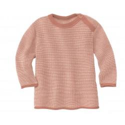DISANA | striktrøje | rosé/natur-20