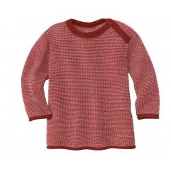DISANA | striktrøje | bordeaux/rosé-20