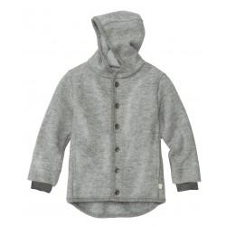 DISANA | uldjakke | kogt uld | grå-20