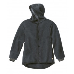 DISANA | uldjakke | kogt uld | antracitgrå-20