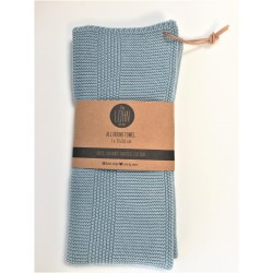 By Lohn all round towel 35x50 cm. 1 stk. powder blue-20