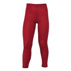 Engel leggings uld rød melange-20