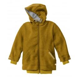 DISANA | helårsjakke i uld | gold fåes helt op til str. 152-20