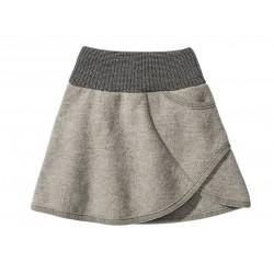 DISANA | nederdel | kogt uld | grå-20