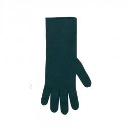 Pure Pure lange fingerhandsker merinould and kashmir flaskegrøn-20