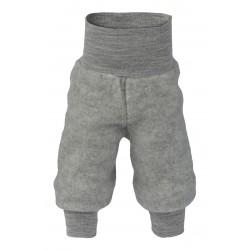 Engel bukser i økologisk uldfleece grå-20