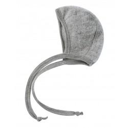 Engel | babyhue i uldfleece | grå-20