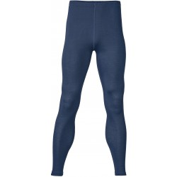 Engel herre leggings uld and silke marineblå-20