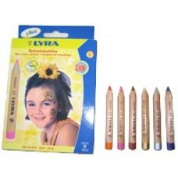 LYRA ansigtsfarver til børn flere varianter-20