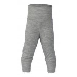 Engel babybukser uld and silke grå-20